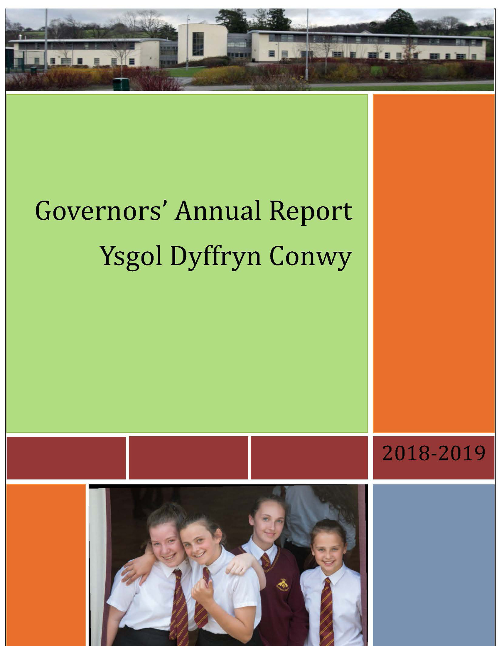 Governor's Annual Report to Parents 2017 / 2018
